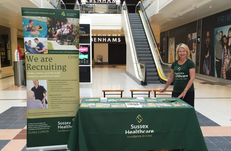 Sussex Healthcare Is Recruiting New Talent