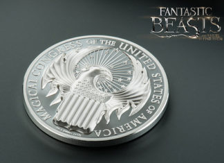 Fantastic Beasts coin US Money Reserve